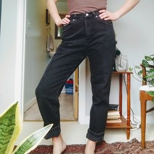 Lee Riders vintage black jeans